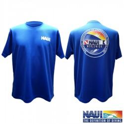 라운드 넥 티셔츠 / 블루