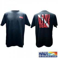다이브 팀 라운드 넥 티셔츠 / 블랙